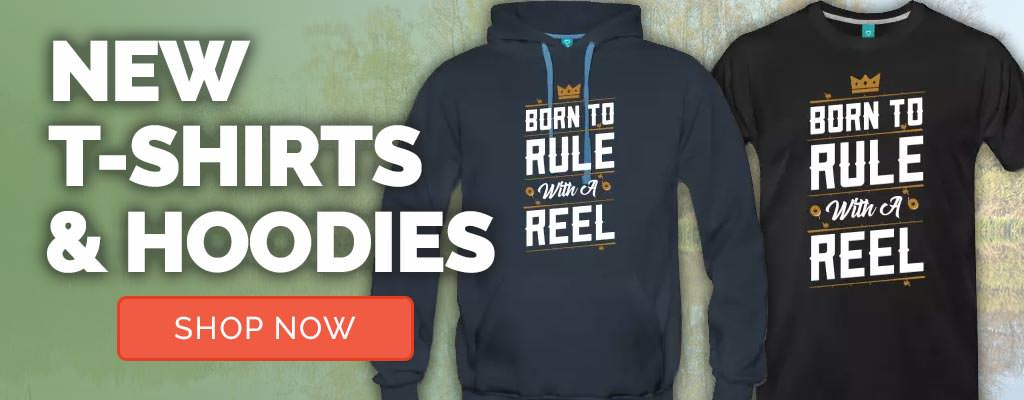 New Fishing Hoodies, T-shirts